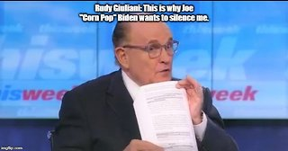 Rudy Giuliani: This is why Joe Biden wants to silence me