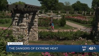 The dangers of extreme heat