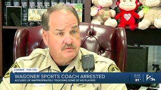 Wagoner sports coach arrested