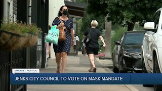 Jenks City Council to vote on mask mandate