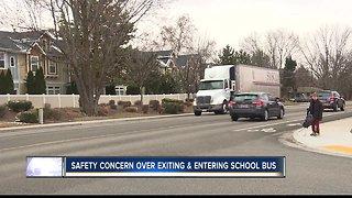 School bus safety concerns