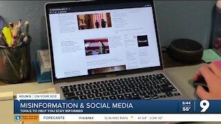 Misinformation easily spread via social media