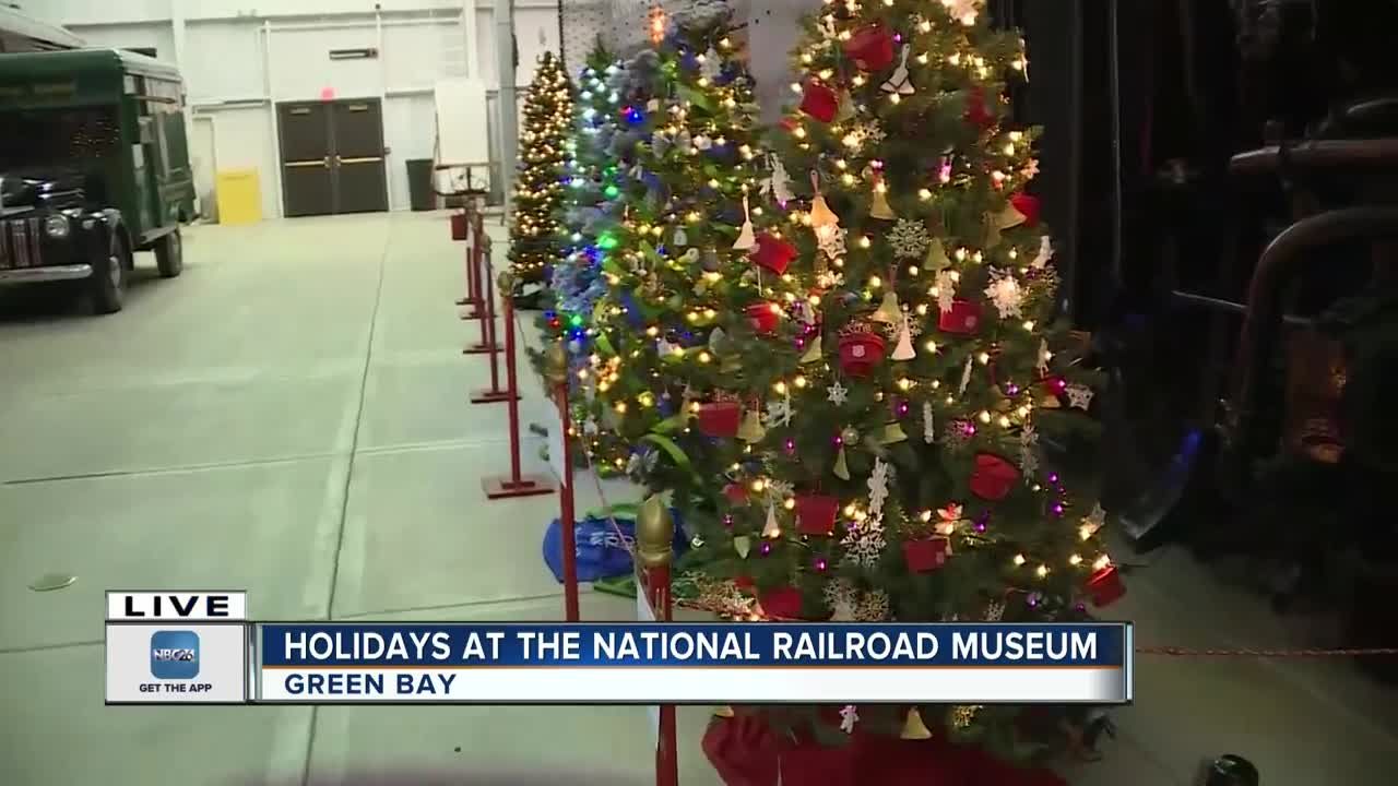 Festival of Trees back at the National Railroad Museum