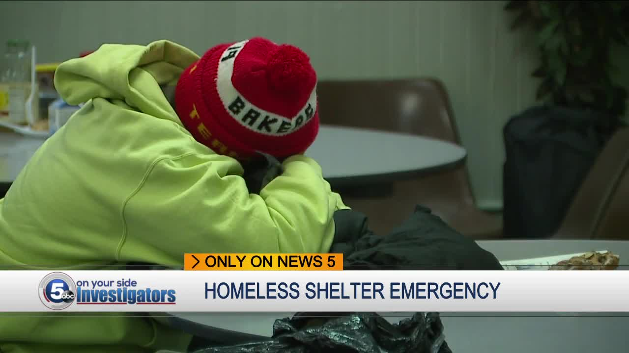Cleveland homeless lose dozens of shelter beds just before winter freeze