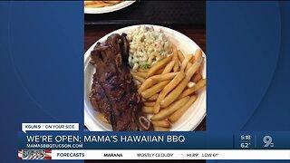 Mama's Hawaiian BBQ serves tropical food