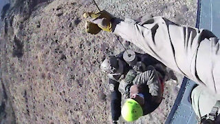 Tucson Air Branch Rescue, January 22, 2021.