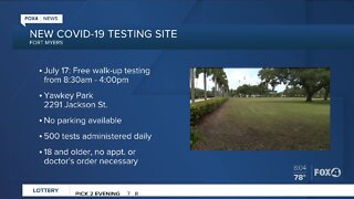 Yawkey Park testing site opens