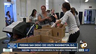 Feeding San Diego CEO visits DC
