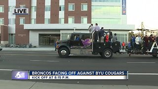 Homecoming Parade at Boise State University