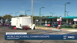 World Pickleball Championship underway in Punta Gorda