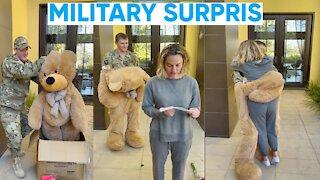MILITARY SURPRISE