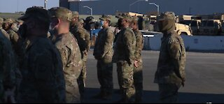 Nevada Army Guard sends hundreds of troops to Washington for inauguration