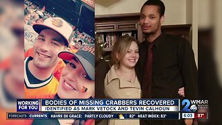Bodies of missing crabbers recovered on Monday