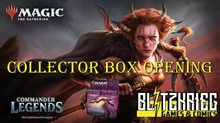 AA Opens Commander Legends Collector Booster Box Opening Magic the Gathering