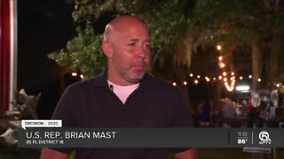 U.S. Rep. Brian Mast to face Pam Keith in District 18 race