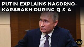 Putin explains Nagorno-Karabakh policy during controversial press Q & A