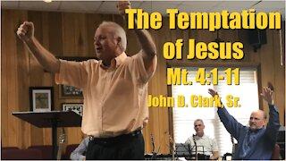 The Temptation of Jesus: Matthew 4:1-11