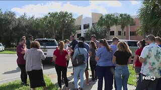 Gateway Charter High back to class after lockdown last week