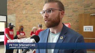 Peter Spadafore, Lansing City Council