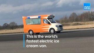 World's Fastest Electric Ice Cream Van