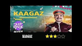 Kaagaz Movie Review | Pankaj Tripathi | Just Binge Review | SpotboyE