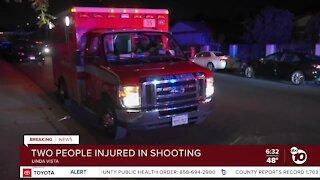 2 people shot in Linda Vista