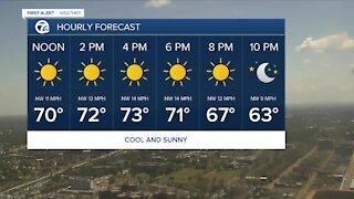 7 First Alert Forecast 12 p.m. Update, Wednesday, June 15