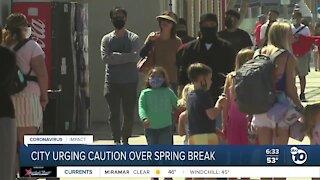San Diego leaders urging caution over Spring Break