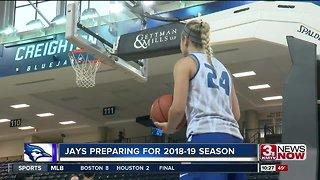 Creighton women's basketball utilizing depth