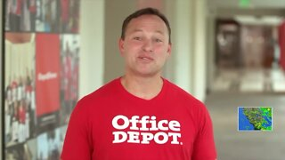 Steve's Ride: Office Depot donates to the American Red Cross