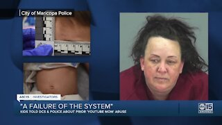 'A failure of the system': Kids told DCS and police about prior 'YouTube Mom' abuse: Part 1