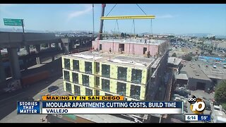 'Lego' apartment buildings cutting costs, build time