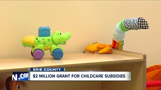 $2 million grant for childcare subsidies