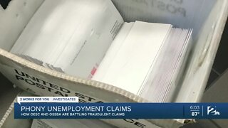 Phony unemployment claims