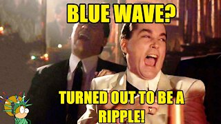 The Blue Wave Turned Into A Ripple