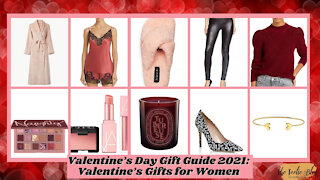 Valentine's Day Gift Guide 2021: Valentine's Gifts for Women