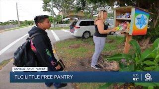 Boca Raton woman creates free neighborhood food pantries