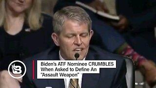 Biden's ATF Pick Can't Define an Assault Weapon