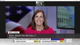 Martha McSally challenges Mark Kelly to seven debates ahead of November election