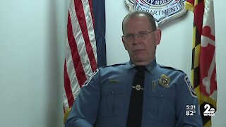 Anne Arundel County interim police chief shares thoughts on new role