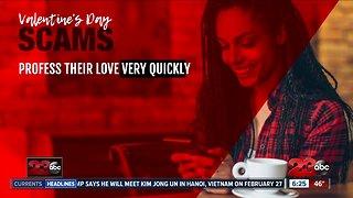 Beware Valentine's Day scams