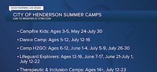 Henderson summer camps registration begins Tuesday