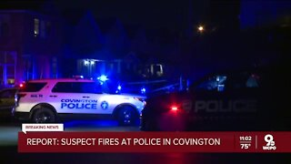 Covington police block roads, attempt to negotiate with suspect inside Frazier Street home