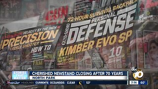 Beloved North Park newsstand closing after 70 years
