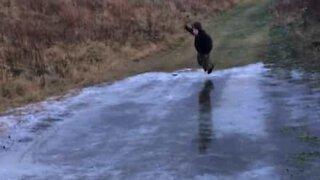 Episk fail på isen