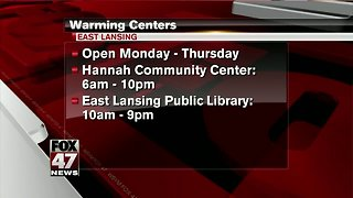 East Lansing to open warming centers