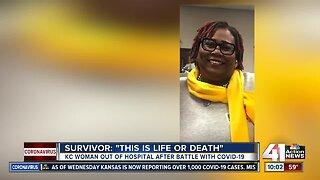 Kansas City COVID-19 survivor shares experience