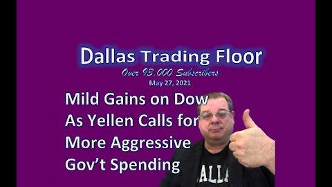 Dallas Trading Floor LIVE May 27, 2021