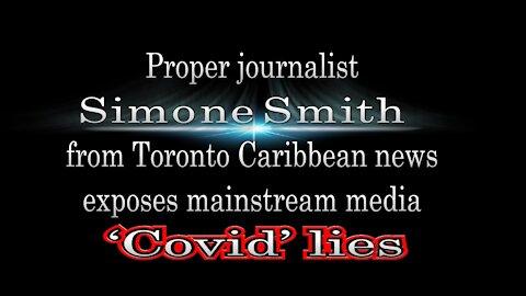 journalist Simone Smith.