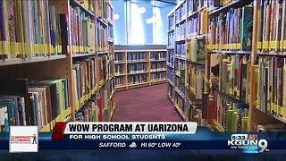 WOW program at UA helping high school students